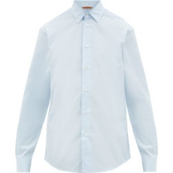 Barena Venezia - Coppi Cotton-poplin Shirt - Mens - Light Blue found on MODAPINS from Matches UK for USD $182.79
