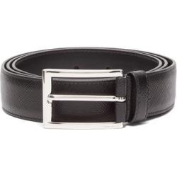 Prada - Saffiano-leather Belt - Mens - Black found on Bargain Bro UK from Matches UK