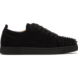 Christian Louboutin - Baskets en daim à picots Louis Junior found on Bargain Bro Philippines from matchesfashion.com fr for $864.50