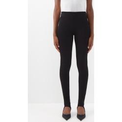 Prada - Stirrup-cuff Stretch-jersey Leggings - Womens - Black found on Bargain Bro UK from Matches UK