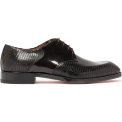 Christian Louboutin - Derbies en cuir embossé A Mon Homme found on Bargain Bro Philippines from matchesfashion.com fr for $1105.00