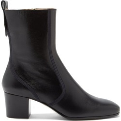 Chloé - Goldee Block-heel Leather Boots - Womens - Black found on Bargain Bro UK from Matches UK