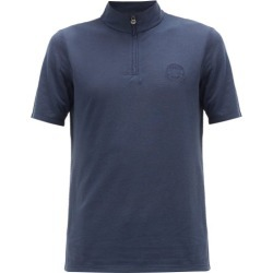 Iffley Road - Sidmouth Half-zip Piqué T-shirt - Mens - Navy found on Bargain Bro Philippines from MATCHESFASHION.COM - AU for $74.54