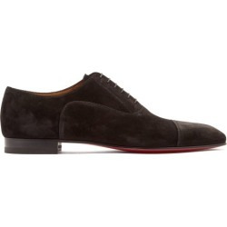 Christian Louboutin - Derbies en daim Greggo found on Bargain Bro Philippines from matchesfashion.com fr for $845.00