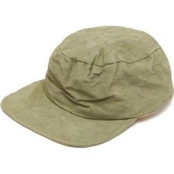 Reinhard Plank Hats - Cyen Creased-canvas Baseball Cap - Womens - Khaki