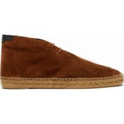 Saint Laurent - Suede Espadrille Boots - Mens - Brown found on Bargain Bro UK from Matches UK