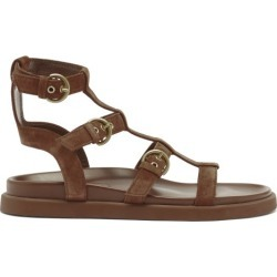 Gianvito Rossi - Arena Leather And Suede Gladiator Sandals - Womens - Tan found on MODAPINS from Matches Global for USD $995.00