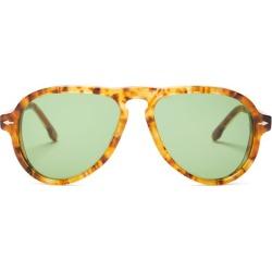 Jacques Marie Mage - Montana Aviator Tortoiseshell-acetate Sunglasses - Womens - Tortoiseshell found on MODAPINS from Matches UK for USD $694.60