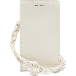 Jil Sander - Tangle Leather Phone Pouch - Womens - White found on Bargain Bro UK from Matches UK
