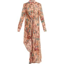 Anjuna - Amanda Floral Print Cotton Dress - Womens - Pink Multi found on MODAPINS from Matches UK for USD $420.54