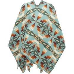 Pendleton - Cape en coton et laine intarsia Tuscon