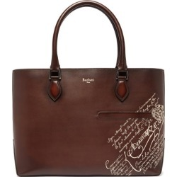 Berluti - Toujours Embossed Leather Tote Bag - Mens - Brown found on MODAPINS from Matches UK for USD $2761.31
