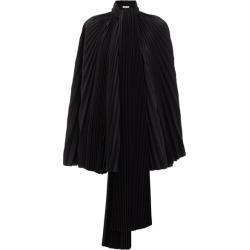 Balenciaga - Pleated-satin Cape Top - Womens - Black found on Bargain Bro India from MATCHESFASHION.COM - AU for $3028.03