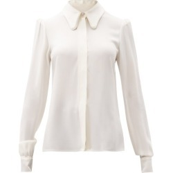 Goat - Lucinda Cady Shirt - Womens - Ivory found on MODAPINS from MATCHESFASHION.COM - AU for USD $553.43