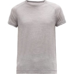 Falke Ess - Raglan Sleeve Wool-blend Jersey T-shirt - Mens - Grey found on Bargain Bro Philippines from Matches Global for $92.00