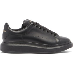 Alexander McQueen - Baskets basses en cuir à semelle oversize found on Bargain Bro Philippines from matchesfashion.com fr for $552.50