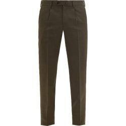 Caruso - Pantalon de costume ajusté en laine found on MODAPINS from matchesfashion.com fr for USD $803.40