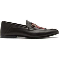 Gucci - Mocassins en cuir à broderie Kingsnake Brixton found on Bargain Bro India from matchesfashion.com fr for $845.00