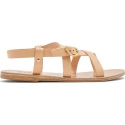 Ancient Greek Sandals - Ambrosia Leather Sandals - Womens - Tan