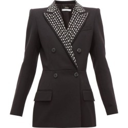 Givenchy - Crystal-embellished Wool-blend Drill Suit Jacket - Womens - Black found on Bargain Bro Philippines from MATCHESFASHION.COM - AU for $2116.98