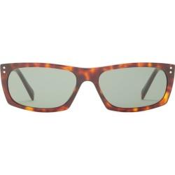 Celine Eyewear - Rectangular Tortoiseshell-acetate Sunglasses - Mens - Tortoiseshell found on Bargain Bro from Matches Global for USD $296.40
