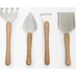 Brunello Cucinelli - Set Of Four Walnut Wood Gardening Tools - Multi found on MODAPINS from Matches Global for USD $1045.00