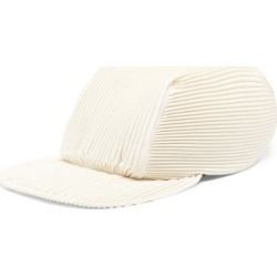 Homme Plissé Issey Miyake - Technical-pleated Baseball Cap - Mens - White found on MODAPINS from Matches UK for USD $276.64