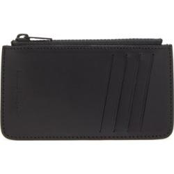 Maison Margiela - Four-stitches Leather Cardholder - Mens - Black found on Bargain Bro UK from Matches UK