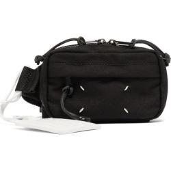 Maison Margiela - Technical-twill Belt Bag - Mens - Black found on Bargain Bro from Matches UK for £352