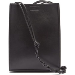Jil Sander - Tangle Small Logo-debossed Leather Shoulder Bag - Mens - Black found on Bargain Bro UK from Matches UK