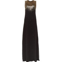 Givenchy - Gradient Sequin Silk-georgette Gown - Womens - Black Gold found on Bargain Bro Philippines from MATCHESFASHION.COM - AU for $1842.92