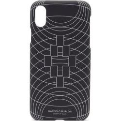 Marcelo Burlon - Wireframe Iphone® Xs Case - Mens - Black