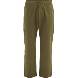 Barena Venezia - Bativoga Drawstring-waist Cotton-blend Trousers - Mens - Khaki found on MODAPINS from MATCHESFASHION.COM - AU for USD $189.72