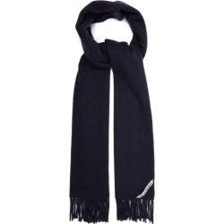 Acne Studios - Canada Fringed Wool Scarf - Womens - Navy found on Bargain Bro UK from Matches UK