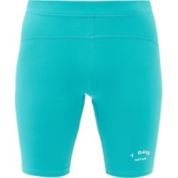 7 Days Active - Sprinter Logo-printed Shorts - Mens - Green found on Bargain Bro Philippines from Matches Global for $33.00