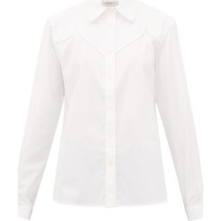 Golden Goose - Madelyn Cotton-poplin Shirt - Womens - White found on Bargain Bro UK from Matches UK