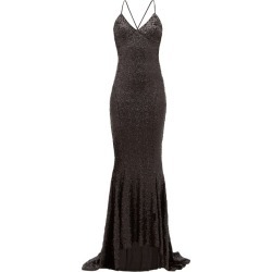 Norma Kamali - Fishtail-hem Sequinned Maxi Dress - Womens - Black found on Bargain Bro Philippines from MATCHESFASHION.COM - AU for $580.04