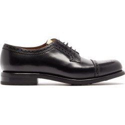 Gucci - Darko Leather Derby Shoes - Mens - Black found on Bargain Bro UK from Matches UK