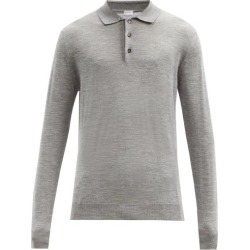 Caruso - Polo manches longues en laine mélangée found on MODAPINS from matchesfashion.com fr for USD $778.70