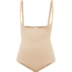 Wolford - Mat De Luxe Shapewear Bodysuit - Womens - Nude found on Bargain Bro India from Matches Global for $139.00