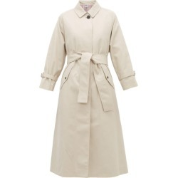 Thom Browne - Belted Twill Trench Coat - Womens - Beige found on Bargain Bro UK from Matches UK