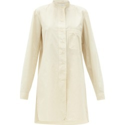 Lemaire - Oversized Cotton-ventile Shirt - Womens - Cream found on MODAPINS from Matches UK for USD $491.38
