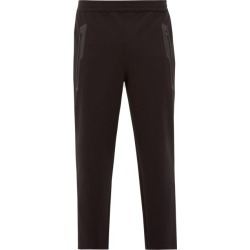 Blackbarrett By Neil Barrett - Stretch Rayon-blend Track Pants - Mens - Black found on Bargain Bro India from Matches Global for $111.00