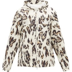 2 Moncler 1952 - Leopard-print Hooded Windbreaker Jacket - Mens - Black White found on Bargain Bro Philippines from MATCHESFASHION.COM - AU for $1575.59