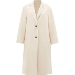 Joseph - Newman Single-breasted Wool-blend Coat - Womens - Light Pink