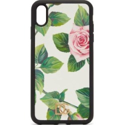 Dolce & Gabbana - Dauphine Rose-print Leather Iphone® Xs Max Case - Womens - White Multi found on Bargain Bro Philippines from Matches Global for $105.00