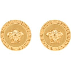 Versace - Tribute Metal Earrings - Womens - Gold found on Bargain Bro UK from Matches UK