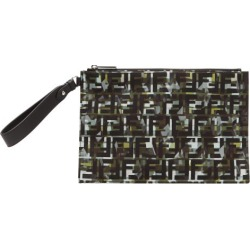 Fendi - Ff And Camouflage-print Pouch - Mens - Green Multi found on Bargain Bro UK from Matches UK