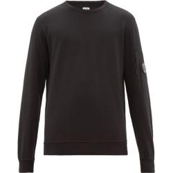 C.p. Company - Lens Embellished Cotton Jersey Sweatshirt - Mens - Black found on Bargain Bro UK from Matches UK