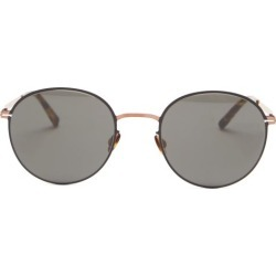 Mykita - Lunettes de soleil rondes en métal Vabo found on MODAPINS from matchesfashion.com fr for USD $492.70